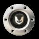 Volante S6 Series Horn Button Kit, Gold Firebird, Brushed