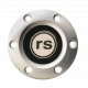 Volante S6 Series Horn Button Kit, Rally Sport, Brushed