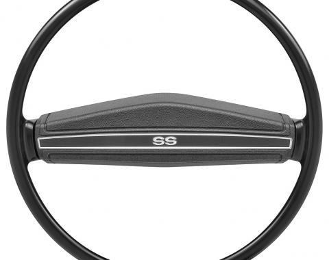 Steering Wheel Black, SS, 1971-1974
