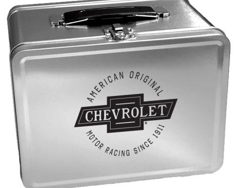 Chevrolet Retro Metal Lunch Box