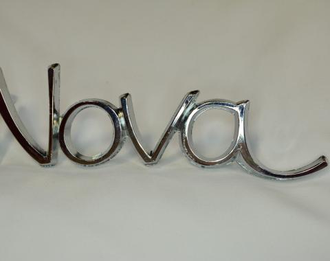 Nova Emblem, Fender, NOS, 1968-1972