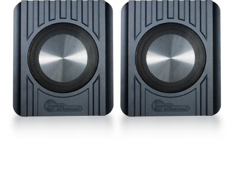 Custom Autosound Undercover II Speaker Enclosures