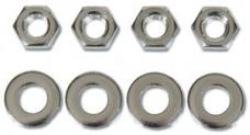 Classic Headquarters Headlamp Washer Hardware (8 Pieces) W-158A