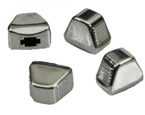 Classic Headquarters Heater Control Chrome Knob Set, 4 Pieces R-426