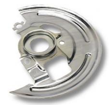Classic Headquarters F,-72 X-Body Disc Brake Backing Plates-Pair W-383A