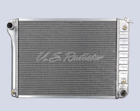 Nova And Chevy II US Radiator, Big Block, Aluminum, without Side Brackets, 1968-1971
