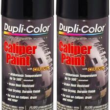 Gloss Black Caliper Paint with Ceramic 12 oz. Aerosol (2 Pack)