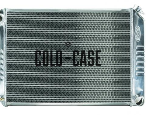 Cold Case Radiators 68-79 Nova BB Aluminum Performance Radiator MT CHN548