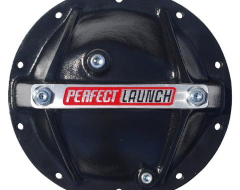Proform Differential Cover, Perfect Launch Model, Fits GM 10 Bolt 8.2/8.5, Alum, Black 66668