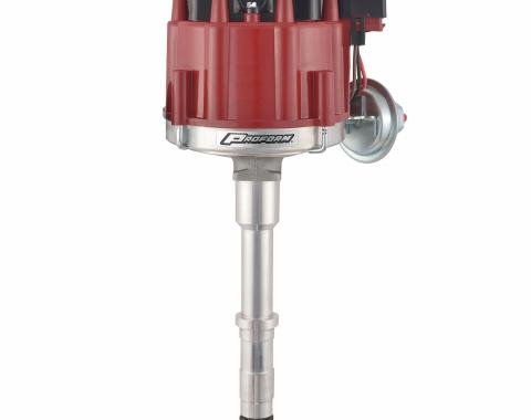 Proform HEI Distributor, Street/Strip, Built-In Coil, Red Cap, Fits AMC V8 Engines 67185