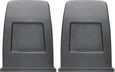 PUI Plastic Bucket Seat Back Panel 1971-77 Camaro/Firebird 71FSB16 | Dark Blue
