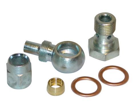 Detroit Speed Banjo Pressure Fitting GM Type II P/S Pump 091801
