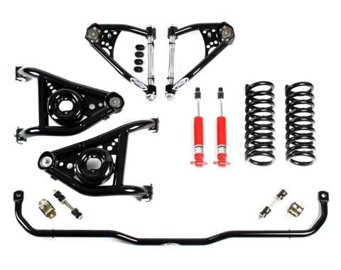 Detroit Speed Speed Kit 1 Front Suspension Kit 1967-1969 Camaro/Firebird 1968-1974 Nova BBC 031304