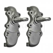 Nova Steering Spindles, 2 Drop, For Cars With Factory Disc Brakes, 1962-1967