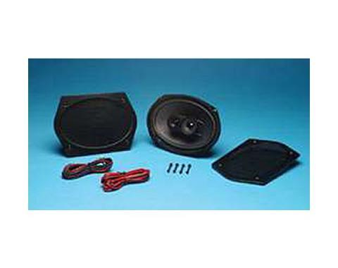 Nova Rear Speakers, 6 x 9, Custom Autosound, 1970-1979