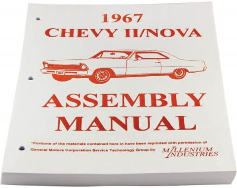Nova Factory Assembly Manual, 1967