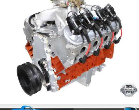 Nova 427 / 625HP Carbureted LS3 Small Block Chevy BluePrint Crate Engine 1962-1979