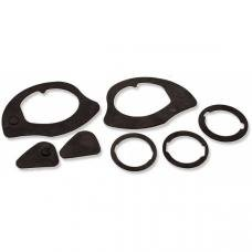 Exterior Door Handle & Lock Gaskets, 1964-1972