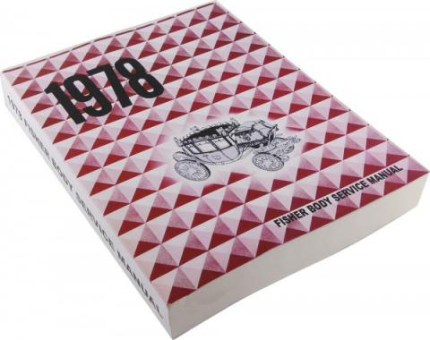 Nova Fisher Body Service Manual, 1978