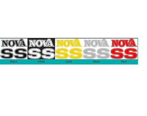 Nova Names Kit, Super Sport, 1975-1976