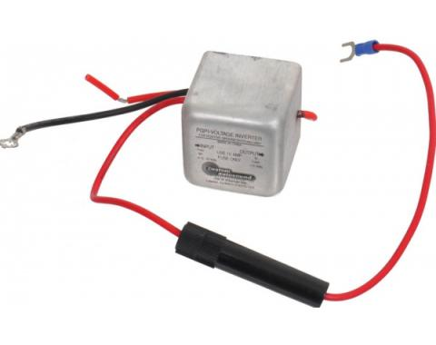Custom Autosound Power Inverter, Positive To Negative Ground, 1-3/4 Cube, 2.1 To 2.5 Amps Output