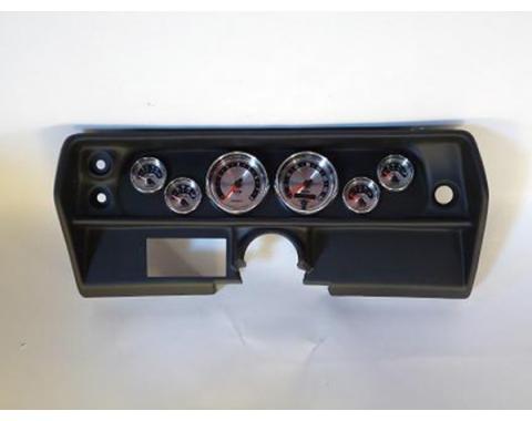 Nova Classic Dash Complete Six Gauge Panel With American Muscle Autometer Gauges Gauges, 1968