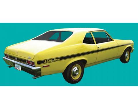 Nova Stripe Kit, Rally, 1971-1972