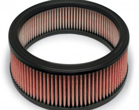"Nova AIRAID® SynthaFlow Air Filter, Red, 4.3L, 5.0L, 5.7L, With 4"" Tall Filter, 1970-1978"