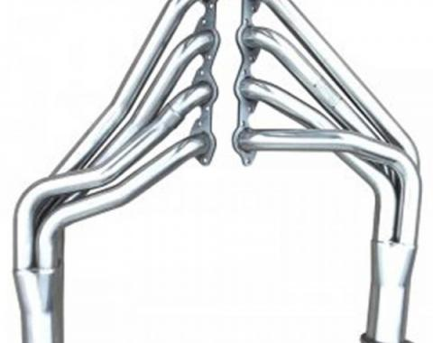 Pypes Stainless Steel Headers, Polished,  Big Block, 1967-1969