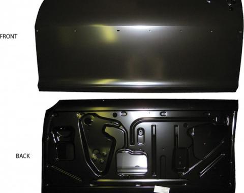 Nova Door Shell, W/O Window Frame Or Trim Holes, Right Side, Hardtop & Convertible, 1962-1965