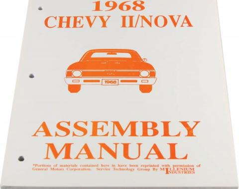 Nova Factory Assembly Manual, 1968