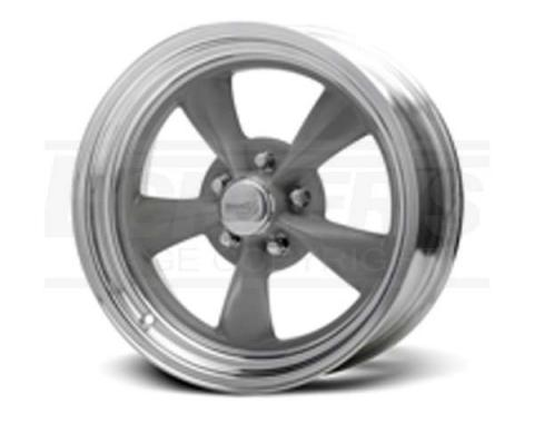 Nova Fuel Grey Wheel, 15x6, 5x4 3/4 Pattern, 1962-1979