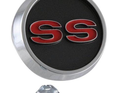 Nova Center Console Super Sport Emblem, 1966-1967