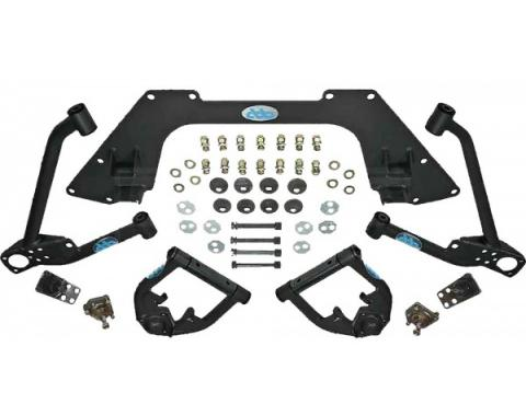 Nova Mini Sub Frame Kit, Upper And Lower, Black, 1962-1967
