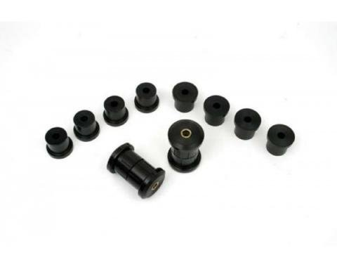 Nova Rear Leaf Spring Bushings, Polyurethane, Multi-Leaf, 1968-1979