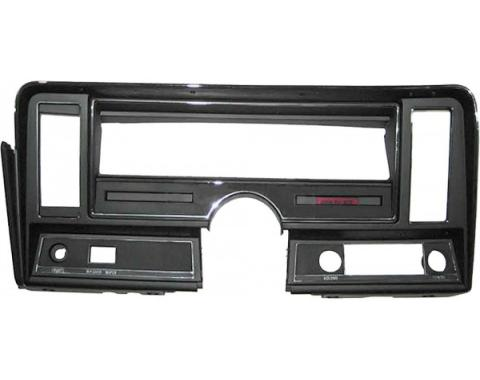 Nova Dash Instrument Panel Carrier, For Cars With Air Conditioning And With Seat Belt Warning Light
