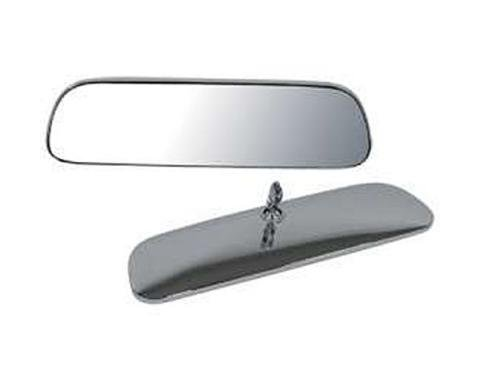 Nova Interior Rear View Mirror, Standard, 8 Inch, Chrome, 1966-1972