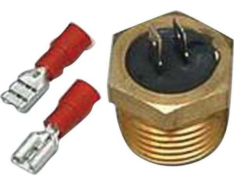 Chevy Nova Electric Cooling Fan Temperature Sending Switch, 1962-1979