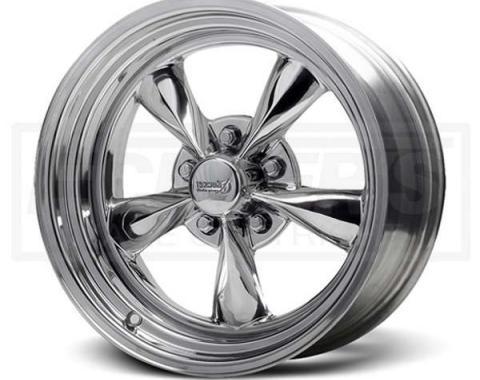 Nova Fuel Chrome Wheel, 15x7, 5x4 3/4 Pattern, 1962-1979