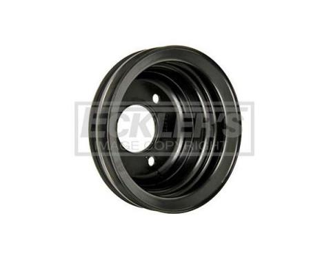 Nova Crankshaft Pulley,396/375hp,Deep Double Groove,1969-1970