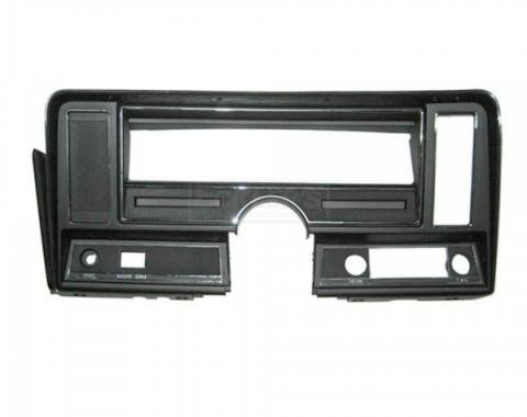 Nova Dash Instrument Panel Carrier, For Cars Without Air Conditioning And Without Seat Belt Warning Light