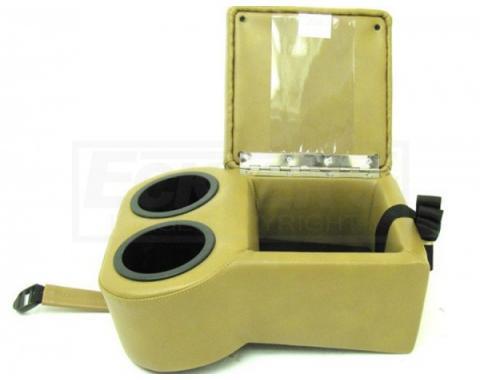 Nova Center Console, Shorty, For Bench Seat, 1962-1967