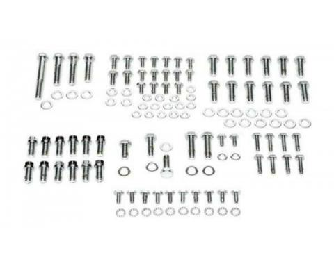Nova Engine Bolt Kit, Big Block, Stainless Steel, For Cars With Exhaust Headers, 1967-1969