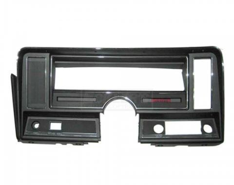 Nova Dash Instrument Panel Carrier, For Cars Without Air Conditioning And With Seat Belt Warning Light