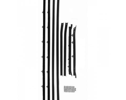 Nova Window Felt Kit, 2-Door, Round Bead, 1968-1972