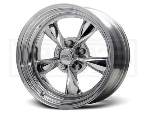 Nova Polished Fuel Wheel, 15x6, 5x4 1/2 Pattern, 1962-1979