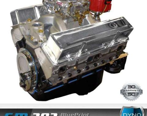 Nova 383 C.I. Blueprint Crate Engine 430HP, Roller Cam, Aluminum Heads, 1962-1979