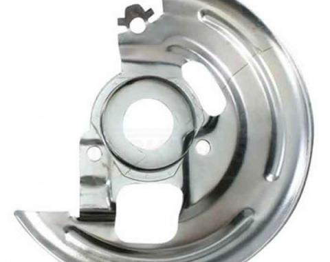 Nova Disc Brake Backing Plates, OEM, 1968-1974