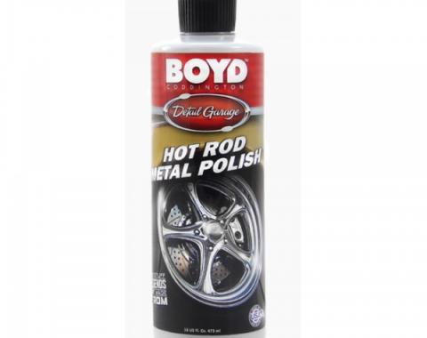 Boyd Coddington Hot Rod Metal Polish, 16 Ounces