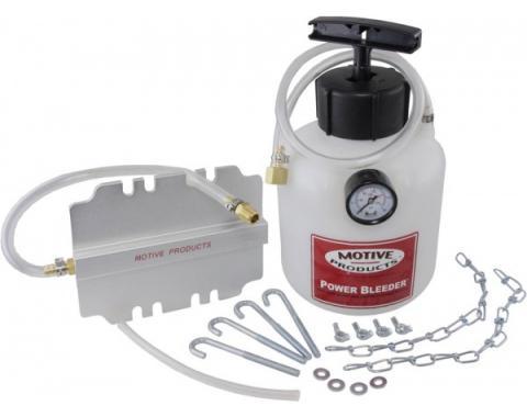 Brake Pressure Bleeder, Dual Master Cylinder